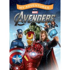 My Adventures with Marvel Avengers is a personalized book based off the popular movie with one twist, it stars your child!