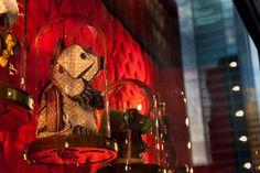 Louis Vuitton – Sydney Australia - Chameleon Visual Ltd - Billie Achilleos – Nov. Sydney Australia, Visual Merchandising, Teddy Bear, Louis Vuitton, Display, Creative, Chameleon, Artist, Painting