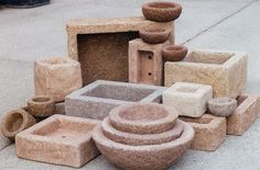 Variety of Planters by Farmbrook Designs, via Flickr