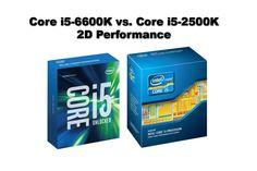 Core i5-6600K vs Core i5-2500K - 2D Performance - Processori > Content Creation - Reviews - ocaholic