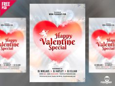 Valentine Special Flyer Free PSD:   Download Valentine Special Flyer Free PSD. Associate the most romantic day of the year with the events organised by you. Download Valentine Special Flyer Free PSD. It is perfect to promote your Valentines Day Party dinner and many more events. Valentine Special Flyer Free PSD is very beautiful and modern in design. The colours used are very subtle yet classy and attractive. Valentine Special Flyer Free PSD gives perfect promotion to any of your upcoming…