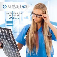 Una buena imagen habla más que mil palabras, diseña tu uniforme junto a nosotros y bríndale confianza y seguridad a tus pacientes. #UniformesparaTodo #Salud #Medicos #Colombia #Uniformes   www.uniformesparatodo.com