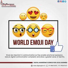 World Emoji Day, Best Digital Marketing Company, Instagram Website, Wisdom Quotes, Communication, Science, Ads, Facebook, Twitter