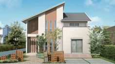大安心の家の設備・仕様、屋根材・外壁について | 家を建てるならタマホーム株式会社 Weekend House, Japanese House, Modern Exterior, Model Homes, Townhouse, Tiny House, Building A House, Architecture Design, Cottage