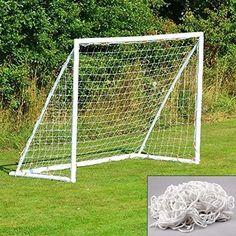 Goal Net Mesh Football 6x4FT Sport Soccer Outdoor Backyard Training Kids Practis #aokur