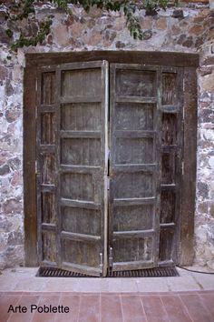 Puerta en Hacienda Viborillas Querétaro, México Susana Soto Poblette. 2015