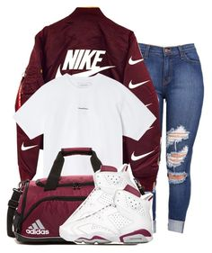 Factory - store on in 2019 nike outfits moda kombinleri, kıy Cute Swag Outfits, Dope Outfits, Casual Outfits, Outfits With Jordans, Girl Jordans, Gym Outfits, Womens Jordans, Girl Jordan Outfits, Sporty Tomboy Outfits
