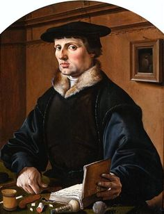 Portrait of a Man - Maerten van Heemskerck