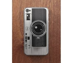 Camera stainless steel iphone cover from Luxe Plates $20