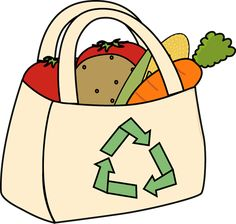clip art of shopping bags for grocery store - Bing images