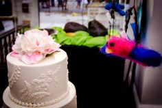 Raleigh Wedding Reception Food | Wedding Cake