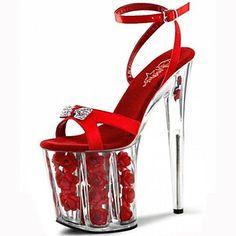 Women's Shoes Platform Stiletto Heel Sandals Shoes – USD $ 64.99