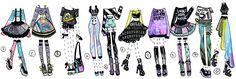 CLOSED -Precious Predator outfits by Guppie-Adopts.deviantart.com on @DeviantArt