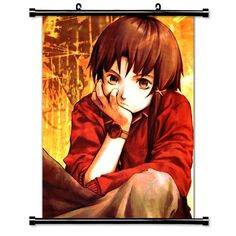 Serial Experiments Lain Anime Fabric Wall Scroll Poster (32' X 41') Inches * Startling review available here  : DIY : Do It Yourself Today