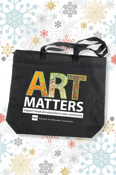"""8e3e29f0308 Take advantage of NAEA Member Discounts for the latest best-selling books,  posters, """"Art Matters"""" tote bags and more."""