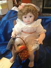 Georgetown Collection ~ Peaches and Cream  porcelain doll ~ Ann Timmerman NICE