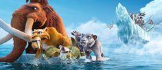 Czwarte spotkanie z leniwcem Sidem, mamutem Mańkiem i tygrysem szablozębnym w filmie Epoka Lodowcowa.