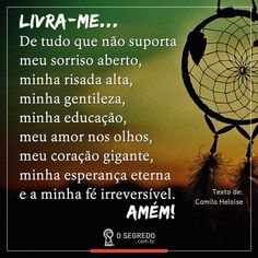 Livra me sr. Portuguese Quotes, Blessed Is She, Namaste, Believe, Prayers, Words, Inspiration, Instagram, Get Over It Quotes