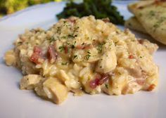 Plain Chicken: Stovetop Cracked Out Chicken & Rice. I can make this in a crockpot too!