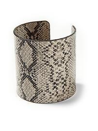 snake print cuff - Piperlime