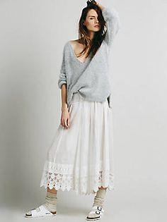 Free People Lay Low Pieced Pant, $128.00
