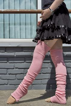 Socks by Sock Dreams » .Socks Special Collections » Plus Sized » Long Cuffable Scrunchable Leg Warmers