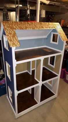 Trimmed and ready for Christmas - Dollhouse | Do It Yourself Home Projects from Ana White