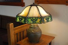 Handel Gingko-Leaf Table Lamp. $5000. Why does it have to be so much? :(