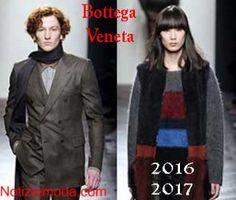Stile Bottega Veneta autunno inverno 2016 2017 uomo donna