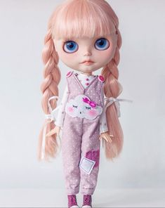 mishidollies - Overalls for Blythe doll available