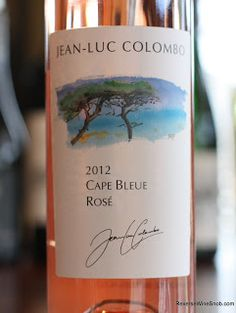 Jean-Luc Colombo Cape Bleue Rosé 2012 - A Heck Of A Nice Rosé. A Reverse Wine Snob Certified Summertime Sipper™. http://www.reversewinesnob.com/2013/07/jean-luc-colombo-cape-bleue-rose.html #winelover A heck of a nice rosé for $8 and another Reverse Wine