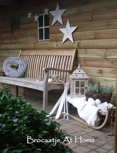 DIY Weihnachtsdeko und Bastelideen zu Weihnachten, skandinavische Deko, Garten gestalten