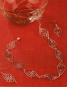 wire jewelry designs | Quick and Easy Wire Jewelry by Dorothy Wood