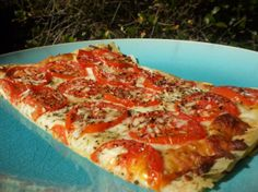 """Tomato Phyllo #Pizza! Reviews range from """"phyllo makes a wonderful light crispy crust for all that cheese tomato goodness"""" to """"mmm this is the ultimate crisp thin crust pizza!! Soo delicious and easy and looks wonderful, too."""" What are you waiting for? http://www.facebook.com/photo.php?fbid=414186175312271=a.278231258907764.67271.149065585157666=1"""