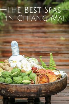 LOVE these places - take me now!  Three of the Best Spas in Chiang Mai all with a Northern Twist