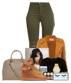 """""""I tried to let go my lover, thought if I was alone then maybe I can recover"""" by gawdesz ❤ liked on Polyvore featuring MICHAEL Michael Kors, CO, Ted Baker, NIKE, Forever 21, Michael Kors and Huda Beauty"""