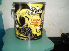 cupa chups drop&salmiak emmer-blik