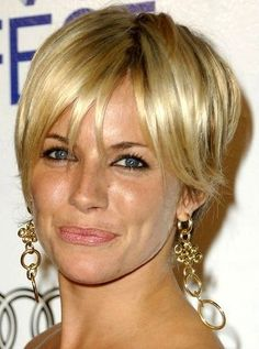 Sienna Miller -- I want pretty: Hair- Corte de pelo corto/Short haircut !