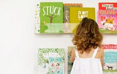 Booksee Shelf from Ubabub acrylic wall bookshelves #popandlolli #pinparty