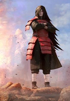 wow...this art piece does madara's character justice. The detail in this is amazing.