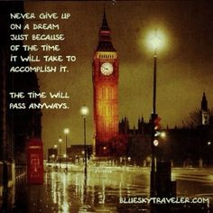 Time #travelquote #travelquotes #blueskytraveler
