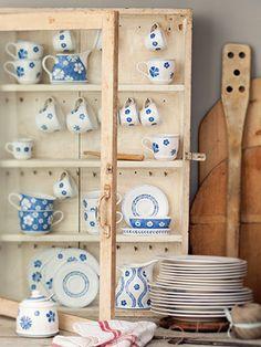 Farmhouse Touch Blueflowers