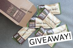 GIVEAWAY for CUSTOM Protein Bars!