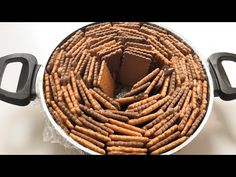 Receta de delicioso bizcocho de galletas - YouTube Light Cakes, Biscuits, Biscuit Cake, Cheesecakes, Novelty Cakes, Occasion Cakes, Turkish Recipes, Food Cakes, Let Them Eat Cake