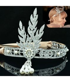 Tiara Great Gatsby  #tiara #mireasa #accesoriimireasa  Pret:135 lei
