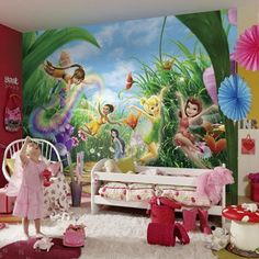 Superb Fototapete Kinderzimmer Wandbild Kinder Prinzessin x cm ink Kleister Kinderzimmer Pinterest Ink