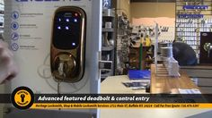 Must Watch This Video Presentation. Cool Cool Electric Deadbolt  Revolution Stand-Alone Touchscreen Deadbolt ------------------------------------------------------ Please Pin it! ------------------------------------------------------ Call Now to Heritage Locksmith: 716.479.5397
