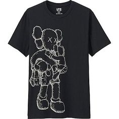 Men's KAWS Graphic Tee (Japan Size)