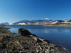 Water Reservoir Besenova (lake below Liptovska Mara Dam) in Liptov region, Slovakia. Peak of mount Choc can be seen in distance. Schengen Area, European Countries, Central Europe, Bratislava, Czech Republic, Prague, Hungary, Seen, Adventure