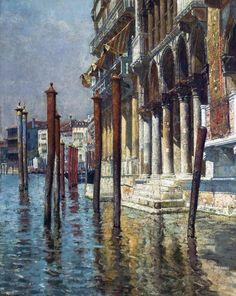 William Logsdail - Venice (1881)